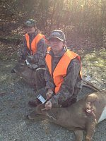 Brother and sister harvest their first deer!-2.jpg